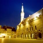 ESTONIA - TALLINN TOWNHALL SQUARE