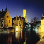 Millpond_and_Belfry_Bruges_Belgium
