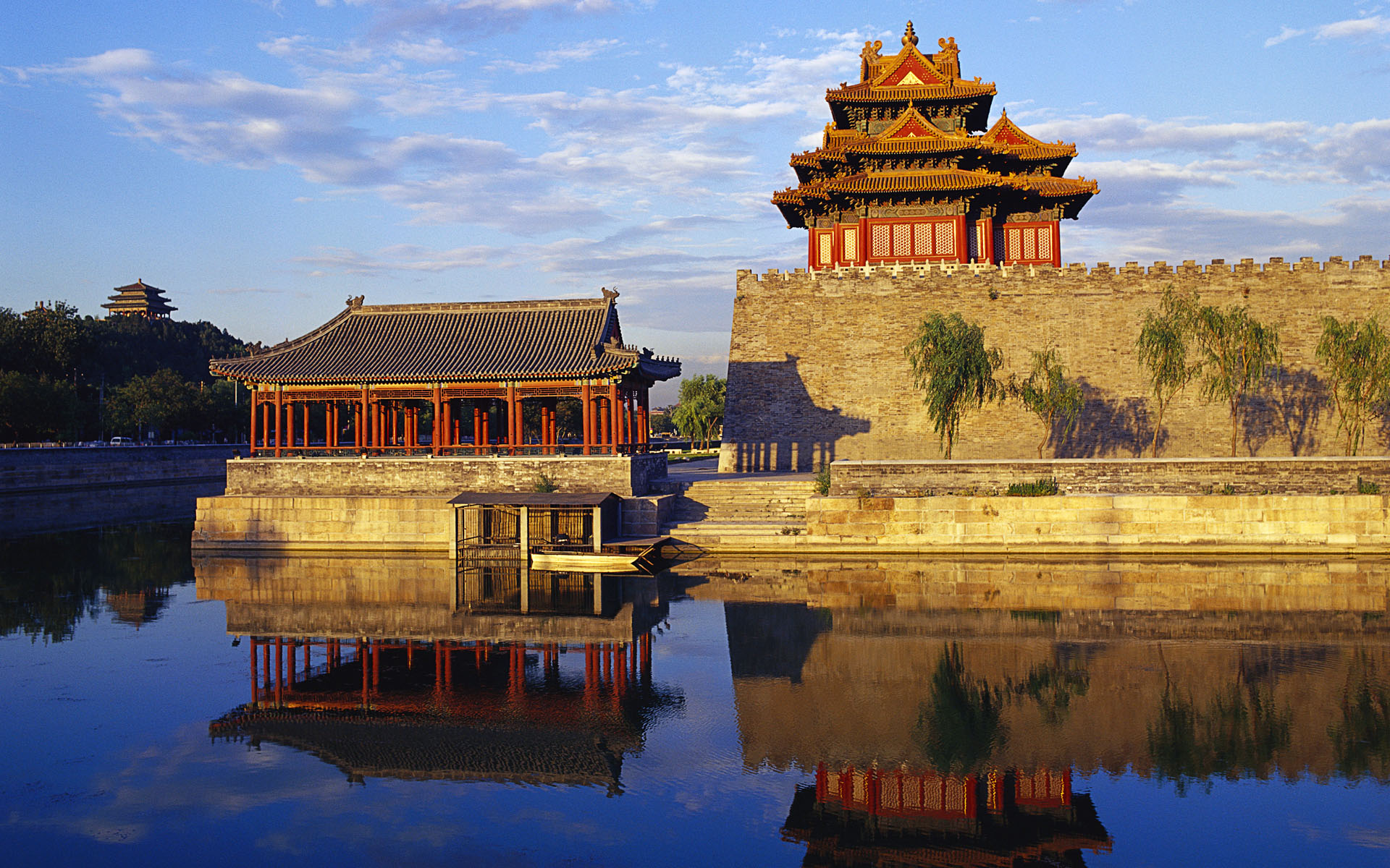 ??????????? (Corner Tower of Forbidden City in Beijing, China)