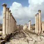 ancient ruins Jerash