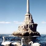 Севастополь_Памятник затопленным кораблям